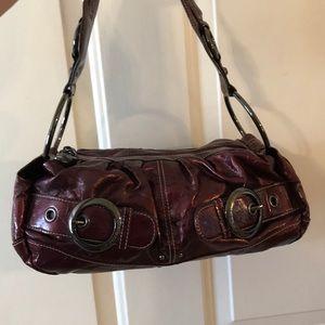 Kathy Van  Zeeland metallic handbag
